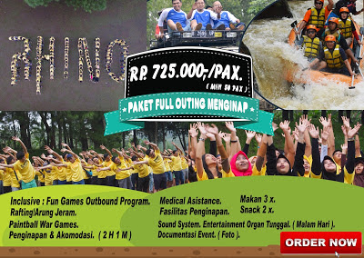Paket outbound paket full outing menginap