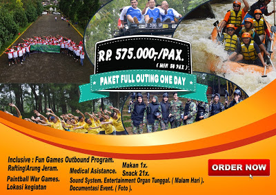 Paket outbound paket full outing one day