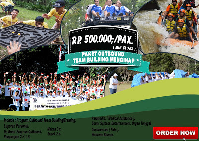 Paket outbound team building menginap