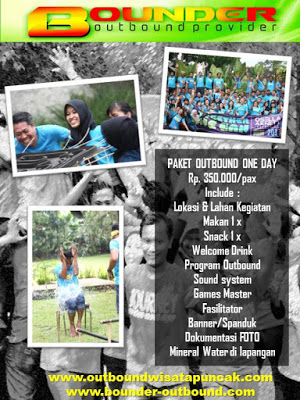 Paket harga outbound paket outbound one day