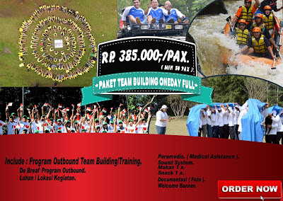 Paket outbound paket team building oneday full