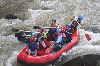 Paket outbound puncak galeri rafting